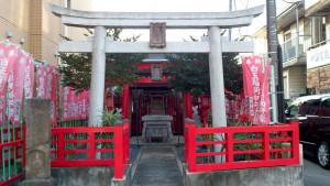 中野区 中央2 白玉稲荷神社