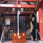 五柱五成神社 拝殿