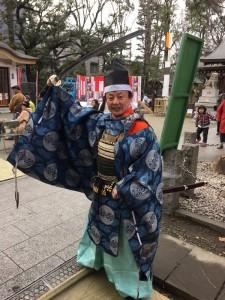 新田神社宮司