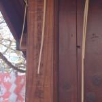 中本一稲荷神社 昭和31年再建