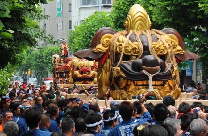 つきじ獅子祭(波除(なみよけ)神社)