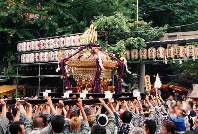 小野照崎(おのてるさき)神社大祭