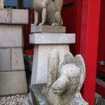 五福稲荷神社 神狐右