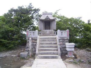 太良嶽神社上宮
