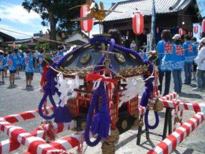松岡神社神輿