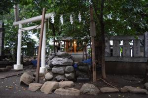 神明氷川神社 三光鱗神社