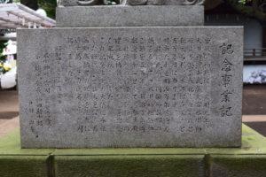 神明氷川神社 狛犬 裏