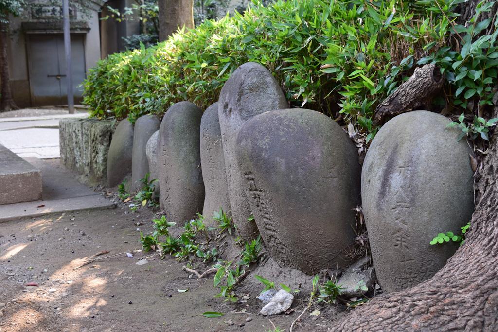 東中野氷川神社 力石