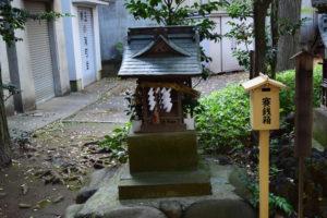東中野氷川神社 境内神社 御嶽神社