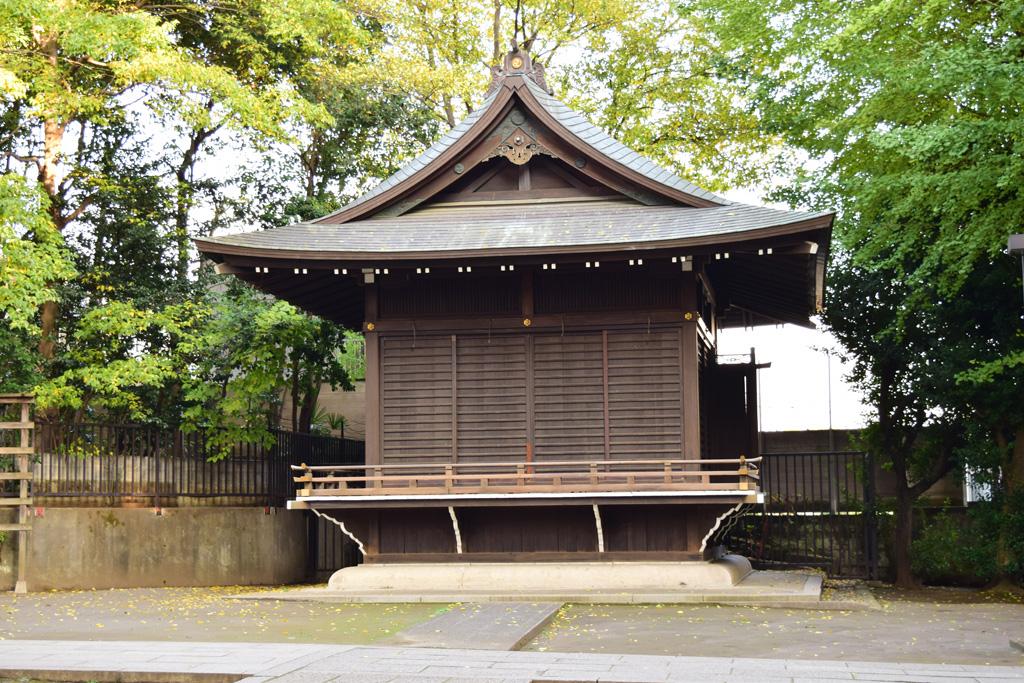東中野氷川神社 神楽殿