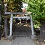 東中野氷川神社 鳥居2