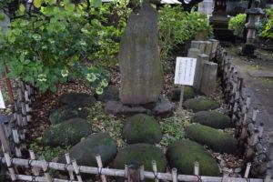 新井北野神社 力石