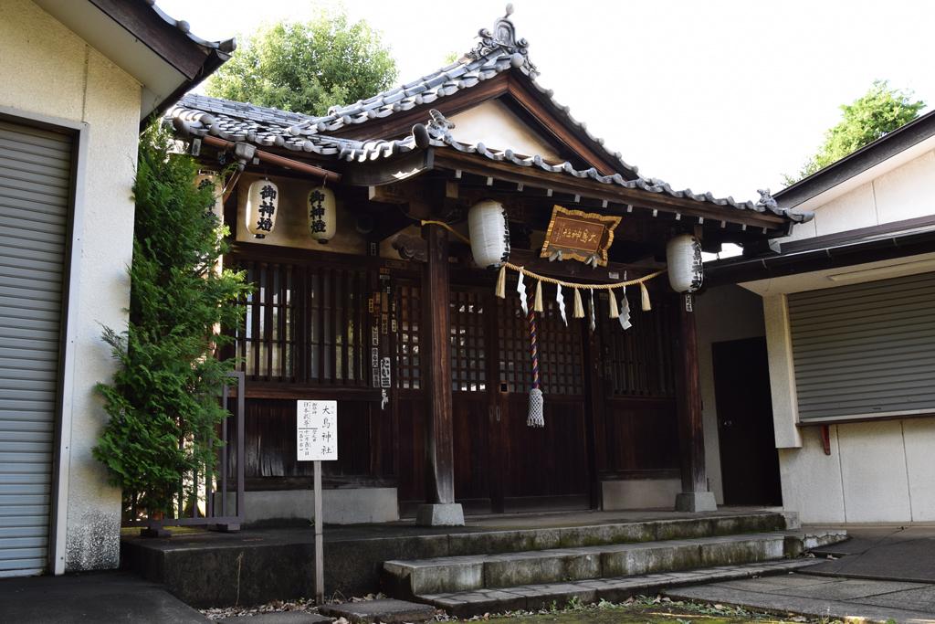 新井北野神社 境内社 大鳥神社