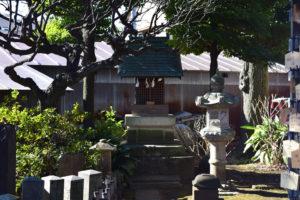 新井北野神社 境内社 御嶽神社