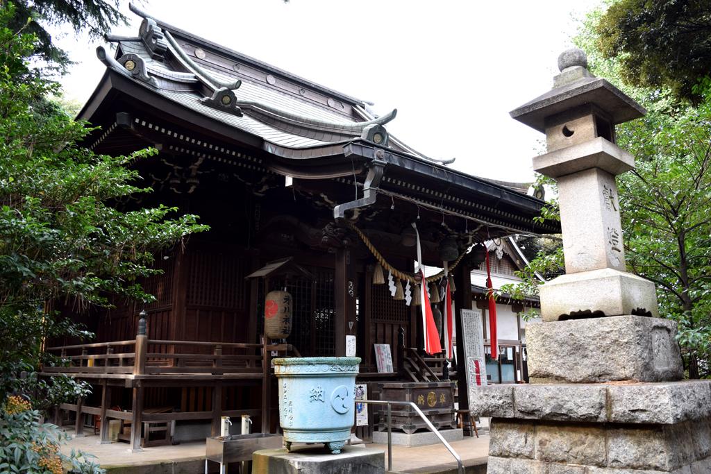 中野区上高田 氷川神社