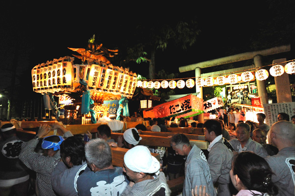 中野沼袋氷川神社例大祭