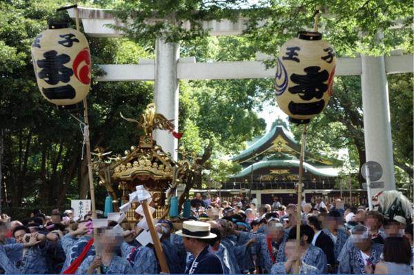 王子神社例大祭「槍祭」