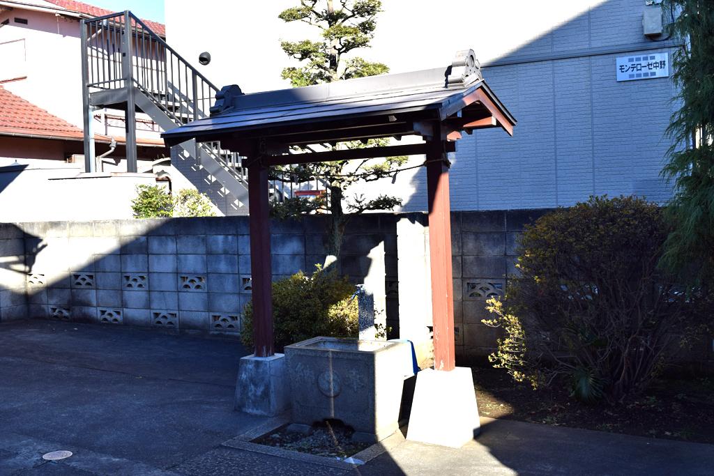 北原神社 手水舎