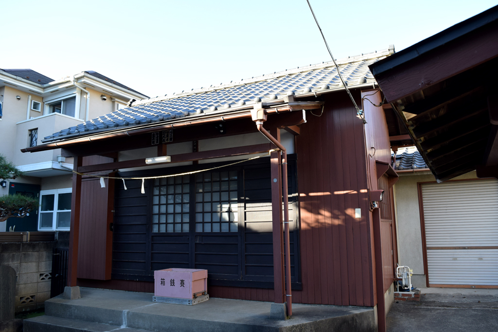 北原神社 拝殿
