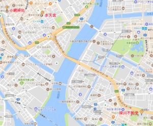 深川・日本橋