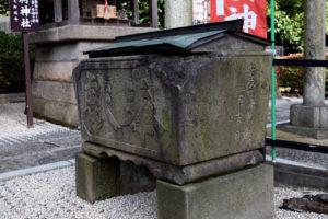 沼袋氷川神社_手水鉢