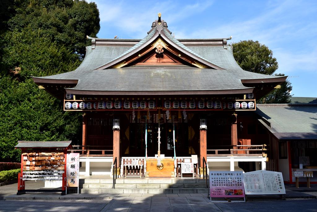 中野区沼袋 氷川神社
