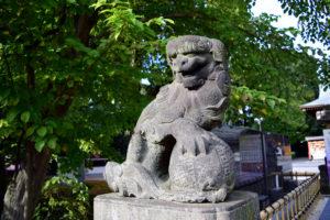沼袋氷川神社_狛犬