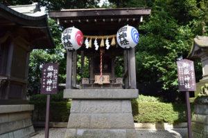 沼袋氷川神社_稲荷神社
