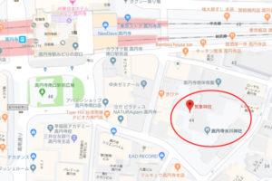 気象神社地図