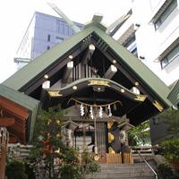 築土神社2